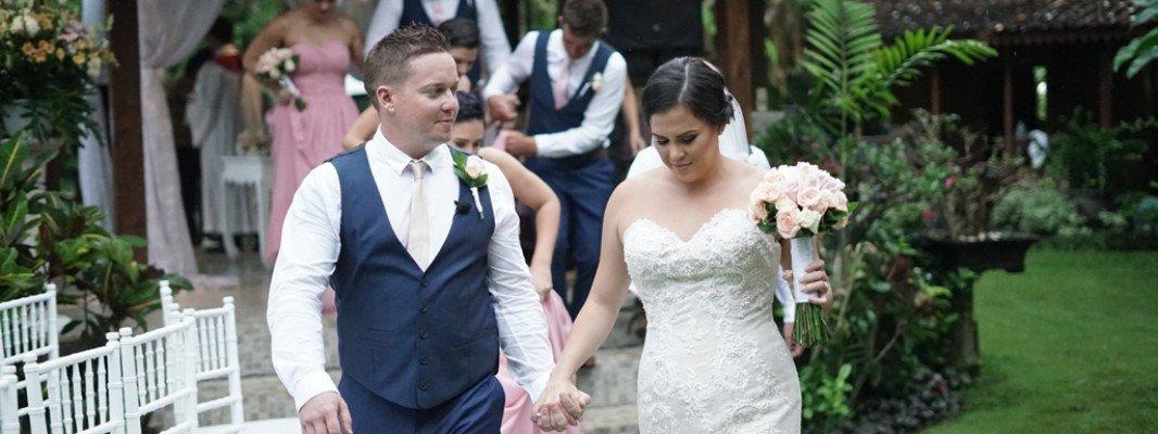 Annmarie & James Taylor's wedding at Villa Avalon Seminyak